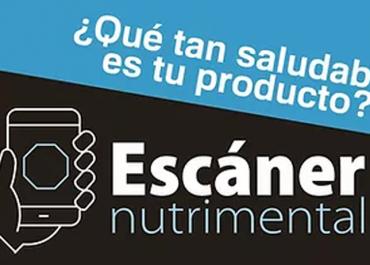 App Escáner nutrimental
